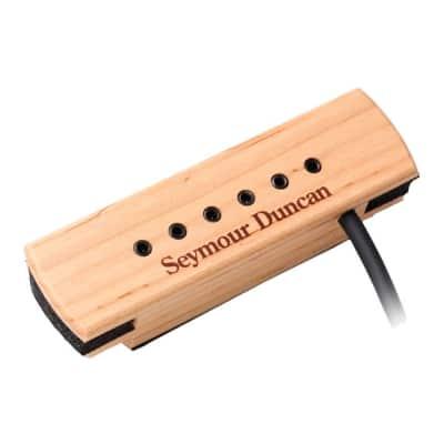 Seymour Duncan SA-3XL Adjustable Woody Acoustic Pickup Maple 11500-32 2018 Maple w/Bonus Keychain