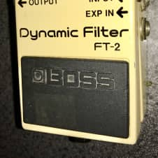 Boss FT-2 Dynamic Filter auto wah guitar fx  effects pedal made in japan