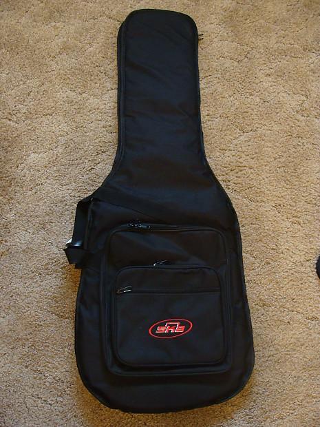 Skb 1skb Gb66 Electric Guitar Gig Bag W Back Straps Reverb