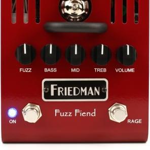Friedman Fuzz Fiend Tube Fuzz Pedal for sale