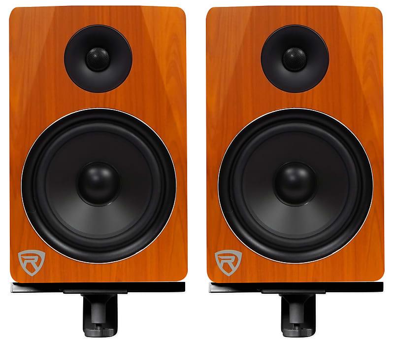 2 rockville apm8c 8 250w powered usb studio monitor reverb. Black Bedroom Furniture Sets. Home Design Ideas