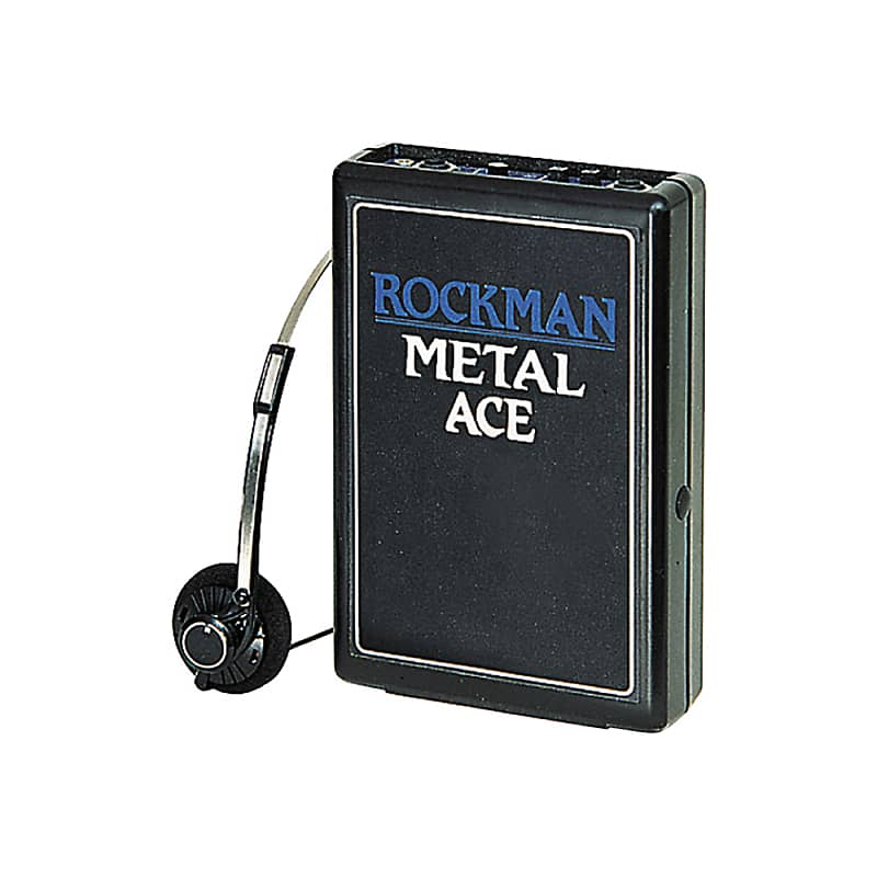 rockman metal ace electric guitar headphone amp reverb. Black Bedroom Furniture Sets. Home Design Ideas