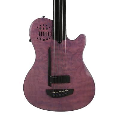 Godin A5 Ultra Fretless Robert Trujillo Signature Semi-Acoustic Bass Guitar - New for sale