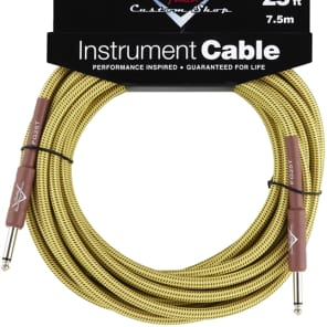 Fender Fender Custom Shop Cable, 25', Tweed for sale