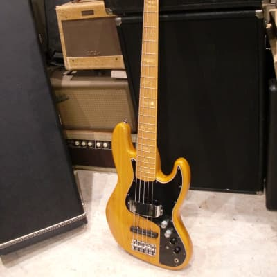 Fender Marcus Miller Artist Series Signature Jazz Bass V 2010 Natural for sale