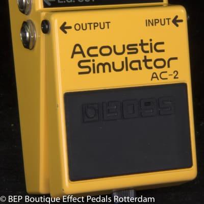 Boss  AC-2 Acoustic Simulator 1999 s/n CM66132