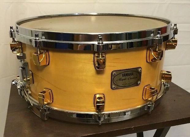 yamaha maple custom 14 x 6 5 snare drum made in reverb. Black Bedroom Furniture Sets. Home Design Ideas