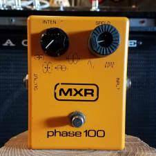 "Vintage 1980's MXR Phase 100 ""Block Logo"" Pedal"
