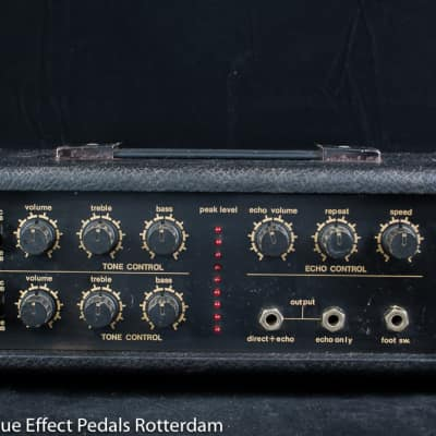 Guyatone AE-5 Analog Echo, First Version 1974 s/n 8104431 Japan with MN3005 BBD for sale