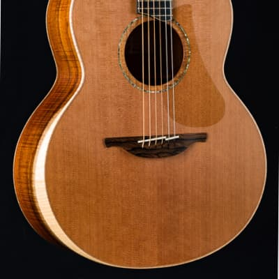 Lowden F-50 Koa and Red Cedar with Bevel and Maple Neck Used (2019)
