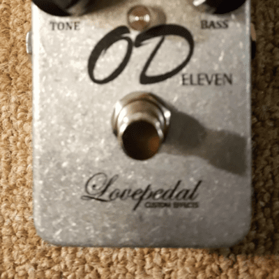 Lovepedal OD Eleven Transparent Overdrive Pedal
