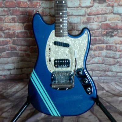 Fender Kurt Cobain Mustang 95/96 Dark Lake Placid Blue for sale