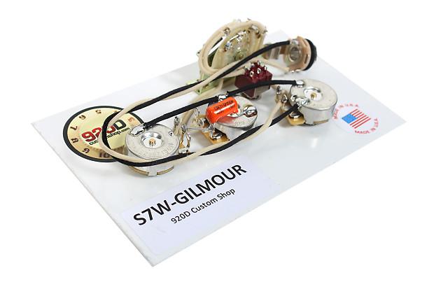 fender strat stratocaster david gilmour 7 way wiring harness reverb. Black Bedroom Furniture Sets. Home Design Ideas