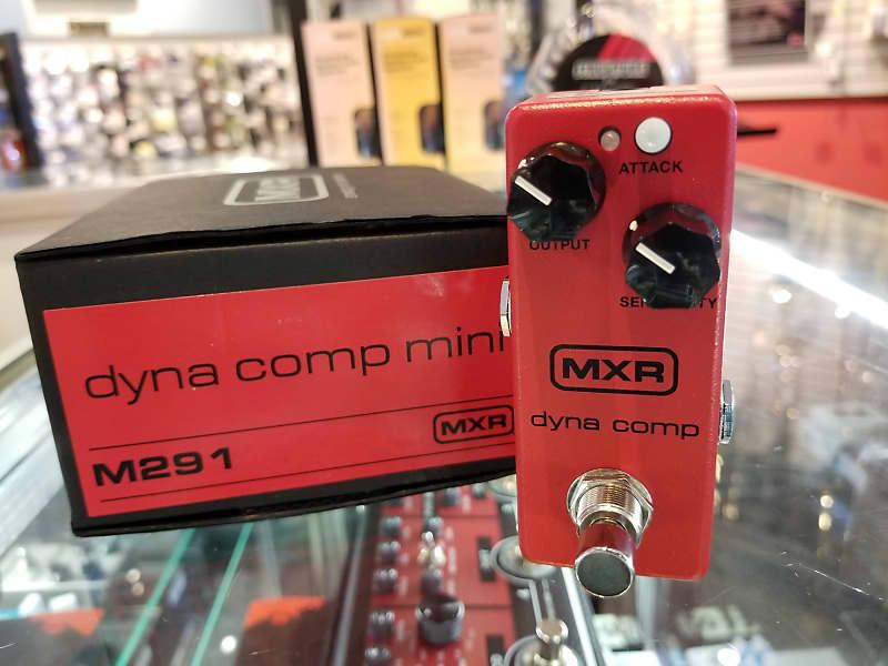 M-291 MXR M291 Dyna Comp Mini Compressor Guitar Effect Pedal