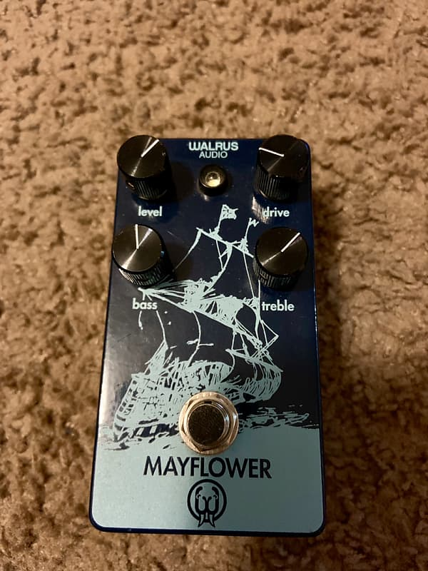 walrus audio mayflower overdrive pedal joel 39 s shop reverb. Black Bedroom Furniture Sets. Home Design Ideas