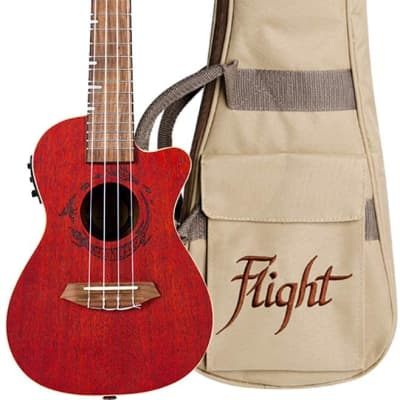 Flight, 4-String Ukulele (DUC380CEQCOR) for sale