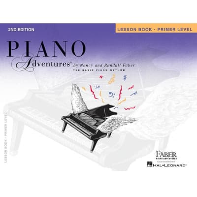 Piano Adventures: The Basic Piano Method - Lesson Book Primer Level (2nd Edition)