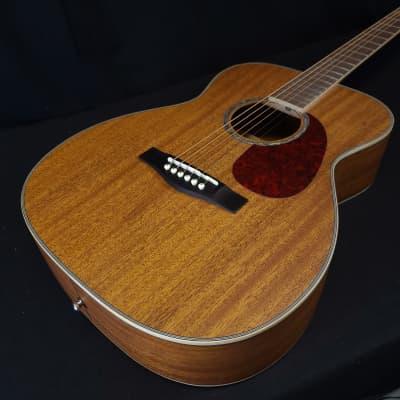 "Revival RG-26M ALL SOLID Honduran Mahogany ""00"" Thin Body Guitar w/Gig Bag for sale"