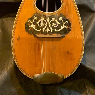 American Conservatory Bowl Back Mandolin 1890s - Brazilian Rosewood - Great Player - FREE Shipping! for sale