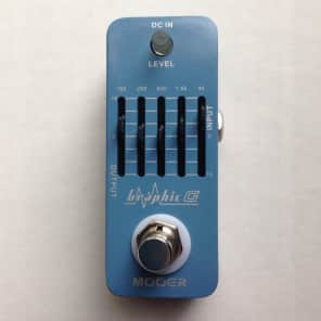 Mooer Graphic G Five-Band Equalizer