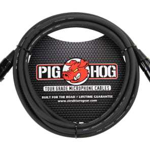 Pig Hog PHM10 Tour-Grade XLR Male to Female Mic Cable - 10'