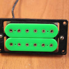 DiMarzio DP100 Super Distortion F Spaced Neon Green Humbucking Pickup Used