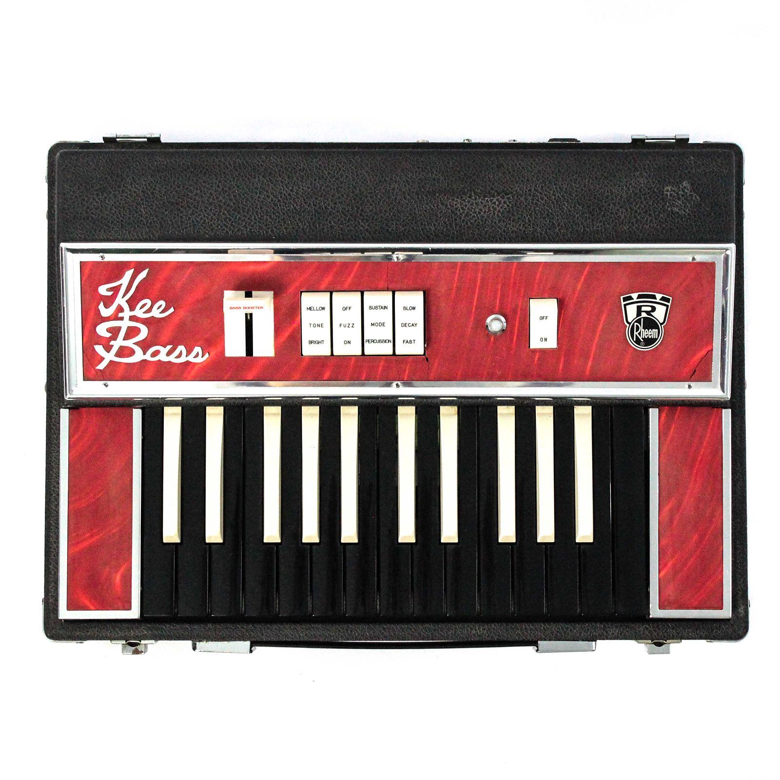 Rheem kee bass combo organ bass synth reverb for Classic house organ bass