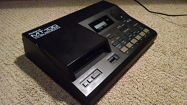 Roland MT-100 Module Sequencer Vintage MIDI 80s Ms Dos Gaming