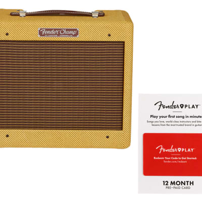 Fender 57 Custom Champ + Fender Play 12 Month Card for sale