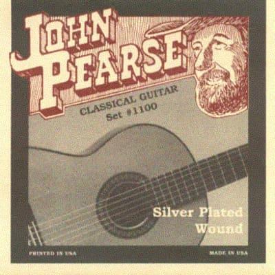 John Pearse 1100   Corde Per Chitarra Classica   Silver Plated