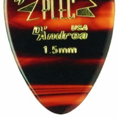 D'andrea Pro-Plec 310 Large Round Teardrop Guitar Picks -12 pack 2015 Natural for sale