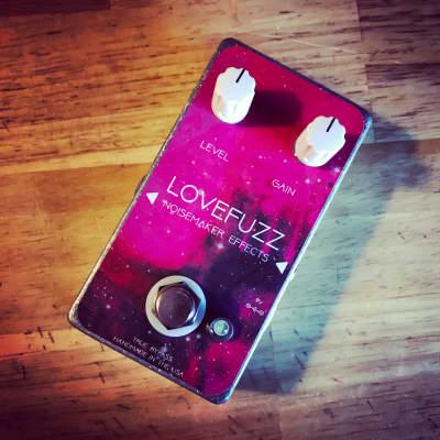Noisemaker Effects Love:Fuzz Fuzz Effect Pedal 2021 Loveless Pink