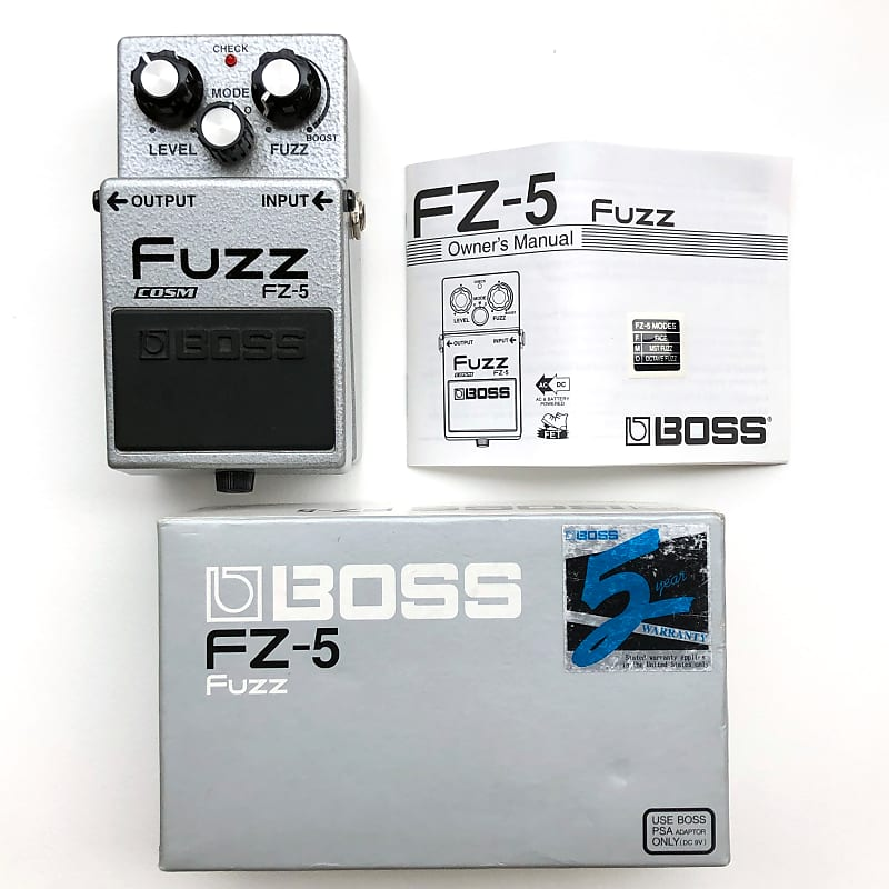 boss fz 5 fuzz nathan 39 s gear reverb. Black Bedroom Furniture Sets. Home Design Ideas