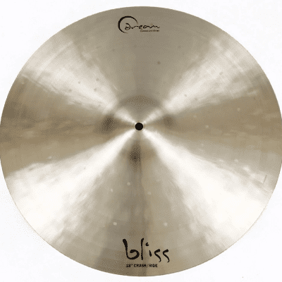 "Dream Cymbals 18"" Bliss Series Crash/Ride Cymbal"