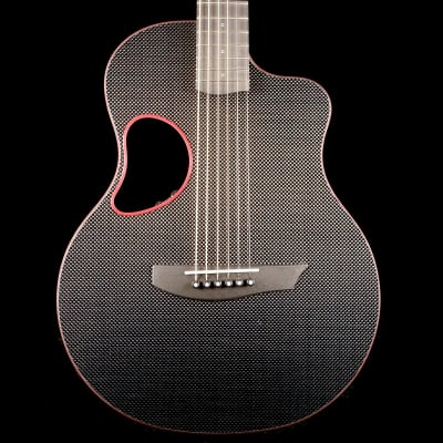McPherson Touring Carbon Fiber Acoustic Guitar Red Binding for sale
