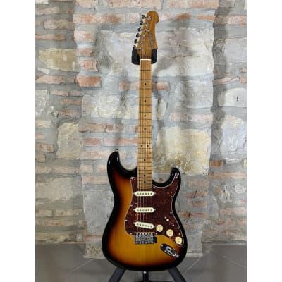 JET GUITARS JS300 SB - Stratocaster Roasted Maple Neck - Sunburst for sale