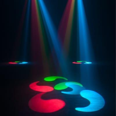 New American DJ ADJ Inno Pocket Roll DMX LED 12W Barrel Mirror Scanner Light