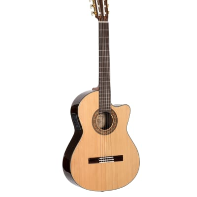 Alvarez Yairi CY75CE - Classical/Electric Guitar in Natural Gloss for sale
