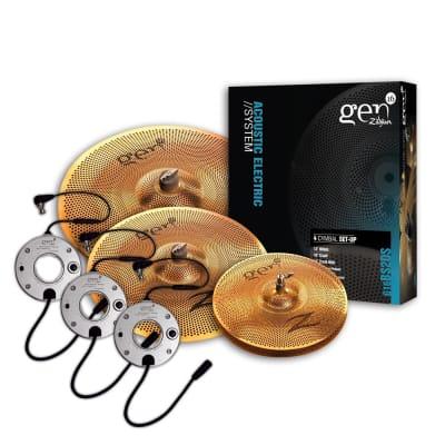 "Zildjian 480DS Gen16 Buffed Bronze Box Set 14/18/20"" Cymbal Pack"