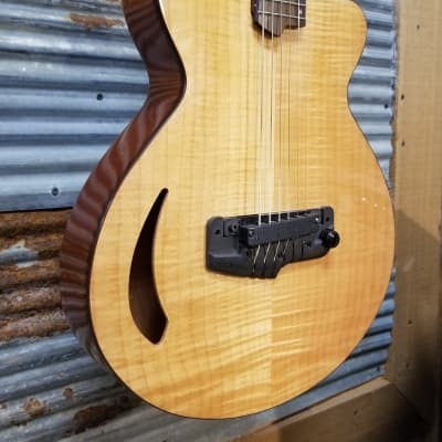 LightWave Atlantis Electric Guitar (Wide Body) AAA Flame Maple Top for sale