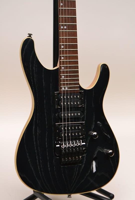 ibanez s570ahswk electric guitar silver wave black reverb. Black Bedroom Furniture Sets. Home Design Ideas