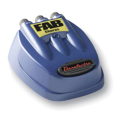 Danelectro D-5 FAB Chorus Pedal Effect for sale