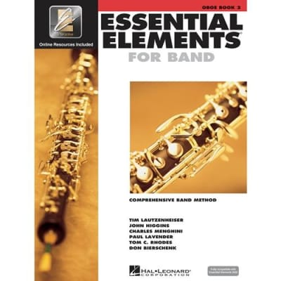 Essential Elements 2000: Comprehensive Band Method - Oboe | Book 2 (w/ CD)