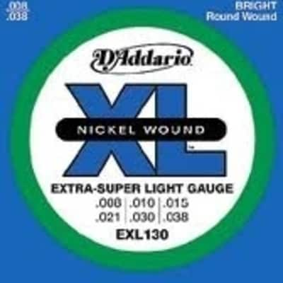 D'Addario EXL130 Electric Guitar Strings - X-Super Light