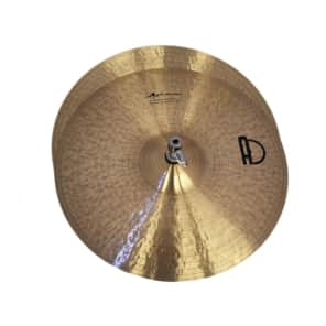 Agean Cymbals 12-inch Special Jazz Hi-Hat Sizzle/Rivets