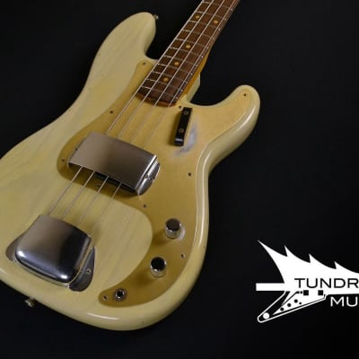 Fender Custom Shop 1959 Journeyman Precision Bass - Vintage Blonde for sale
