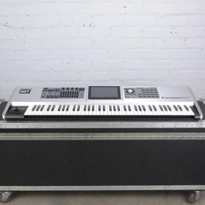 Roland Fantom G7 76-Key Synthesizer Keyboard w/ A&S Road Case #42428