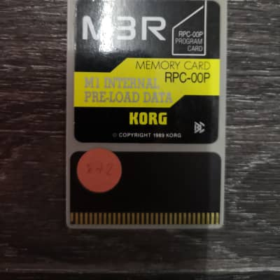 Korg M3R M1 Internal Pre-load Data RPC-00P
