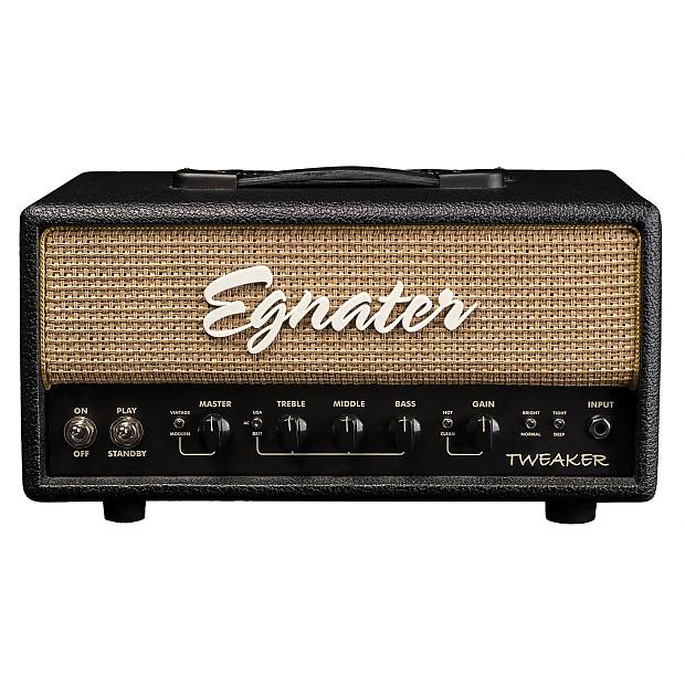 egnater tweaker guitar amplifier head 15 watts zzounds reverb