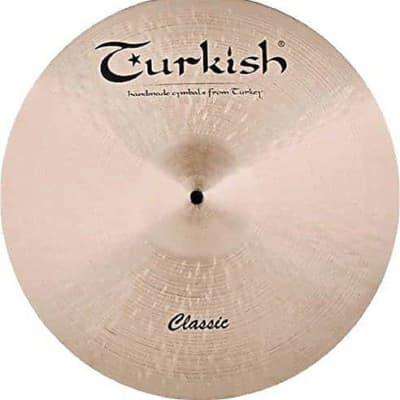 "Turkish Cymbals 21"" Classic Rock Ride"